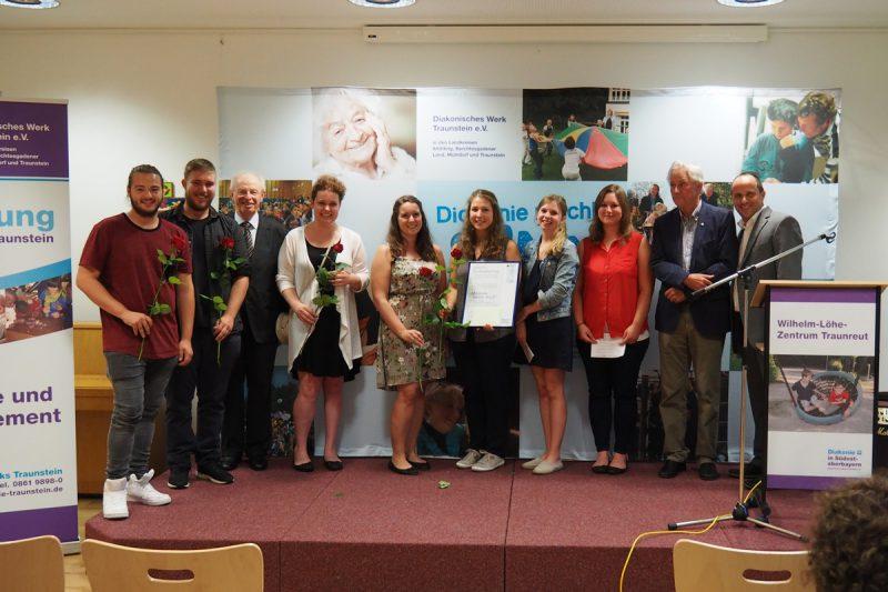 Soziales Engagement Mit Dietrich-Bonhoeffer-Preis Ausgezeichnet