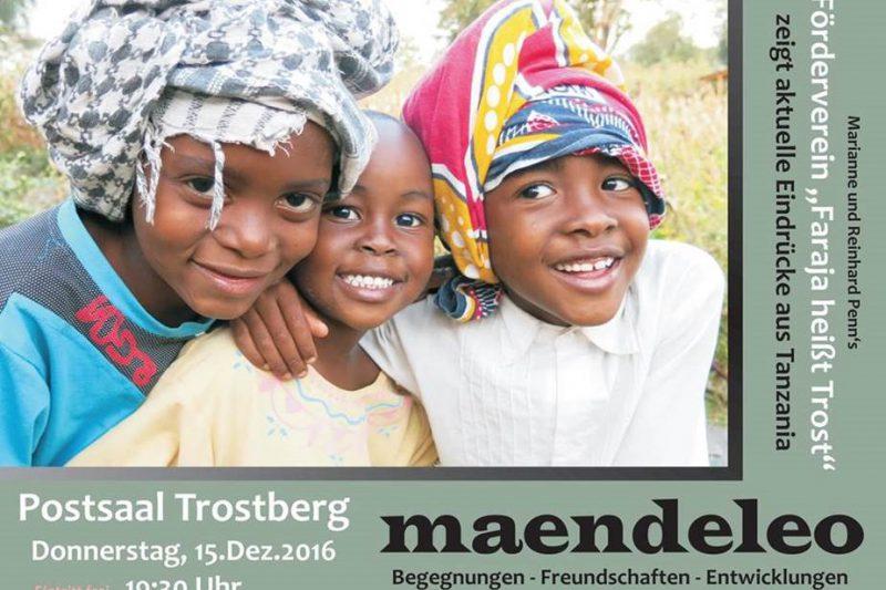 Maendeleo – Begegnungen • Freundschaften • Entwicklungen