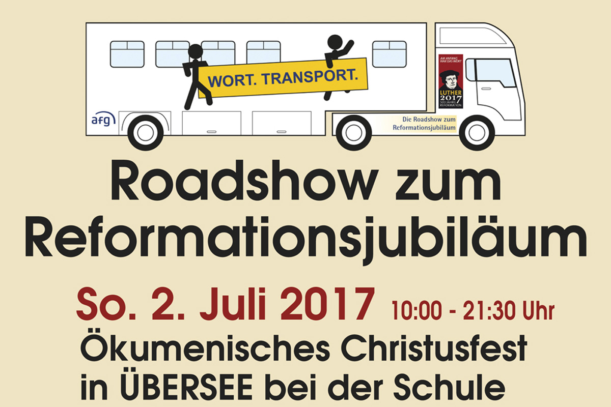 Roadshow Wort.Transport. Am 02.07.2017