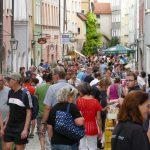 Gelungener Nachtflohmarkt In Burghausen