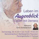 Leben Im Augenblick – Leben Mit Demenz