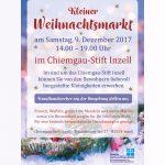 Weihnachtsmarkt Im Chiemgau-Stift Inzell
