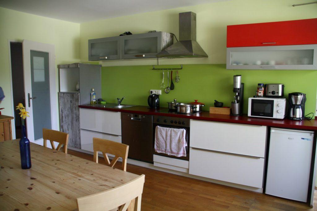 Küche teilbetreute Wohngruppe