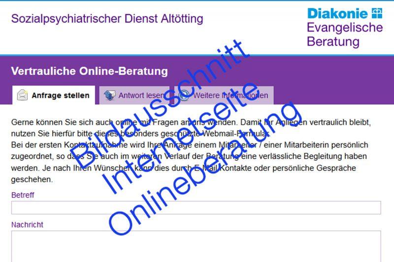 Sozialpsychiatrischer Dienst Altötting Startet Online-Beratung