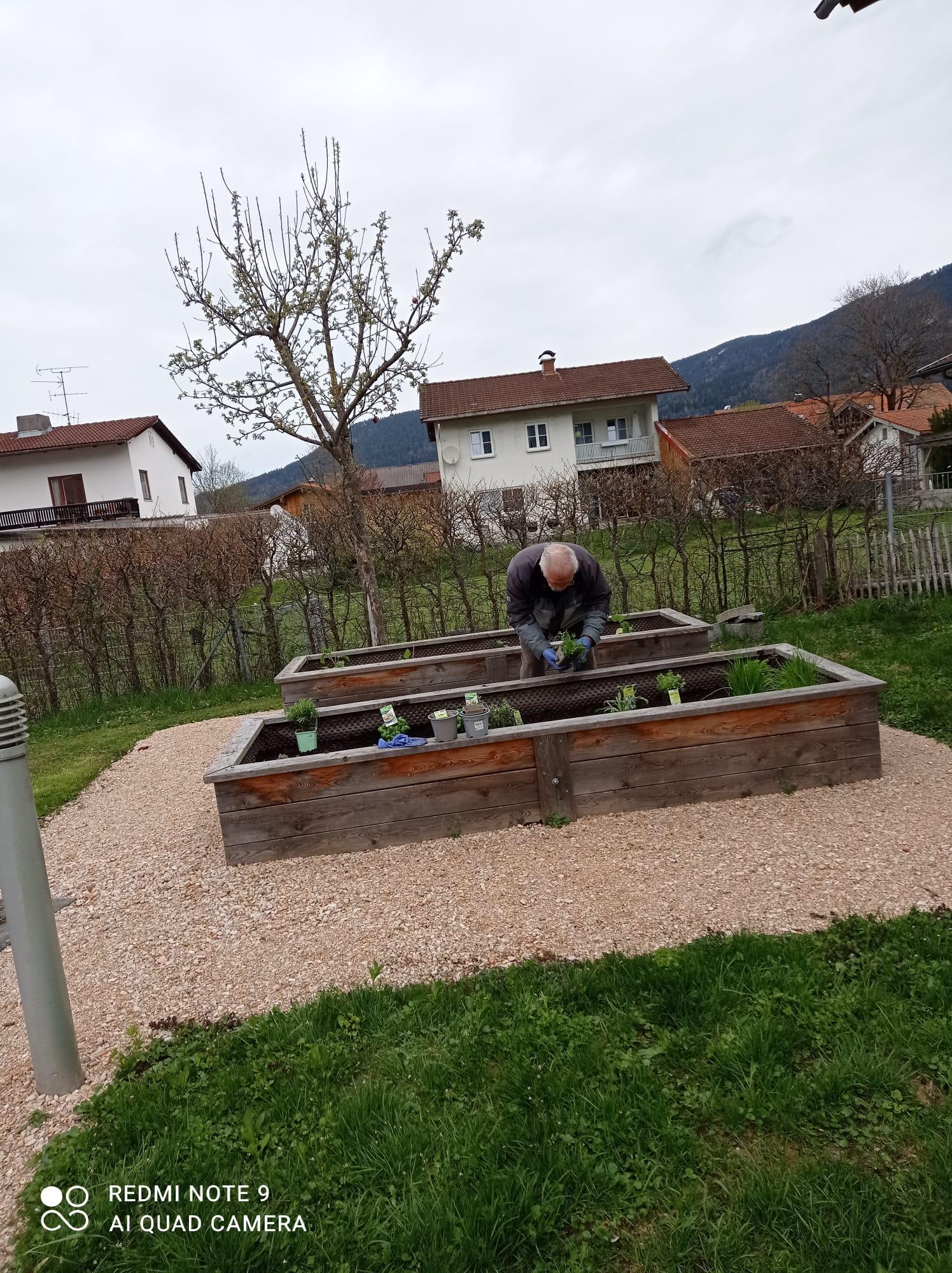 Hobby-Gärtner Chiemgau-Stift