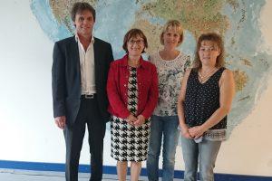 Harald Linner, Dr. Marlies Haindl, Ulrike Zöttl, Lisa Mörtl