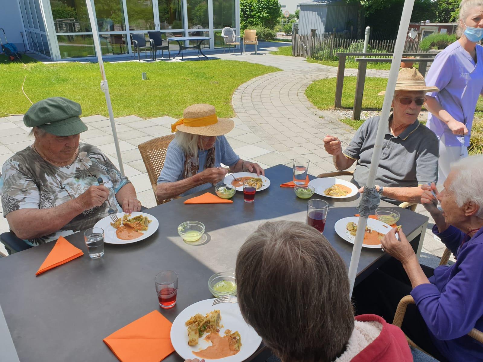 Mittagessen Kastanienallee