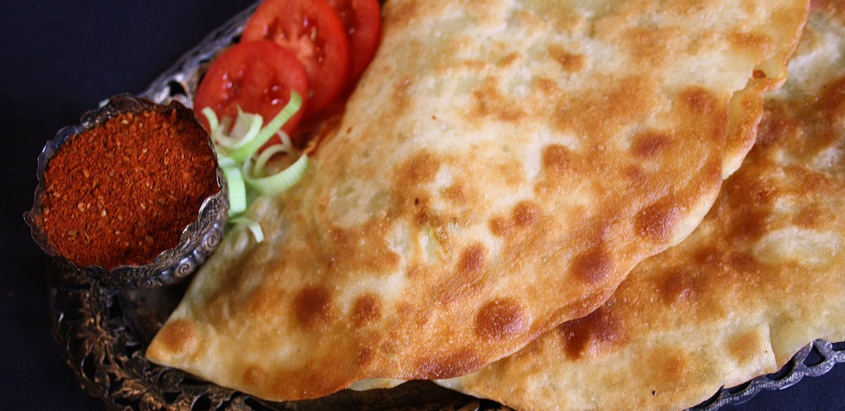 Bolani, Eine Afghanische Speise Aus Dem Kochbuch