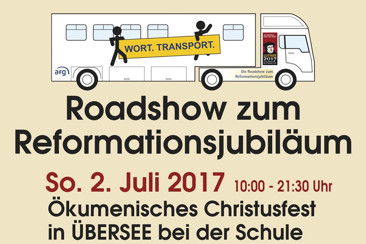 Roadshow Wort.Transport. – Am 02.07.2017 Hier Bei Uns In Übersee