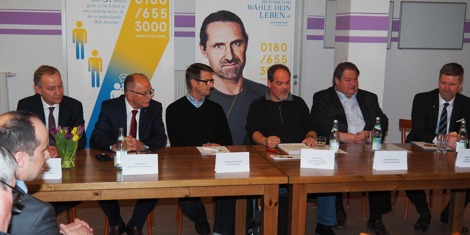 Pressekonferenz: 1 Jahr Krisendienst Psychiatrie