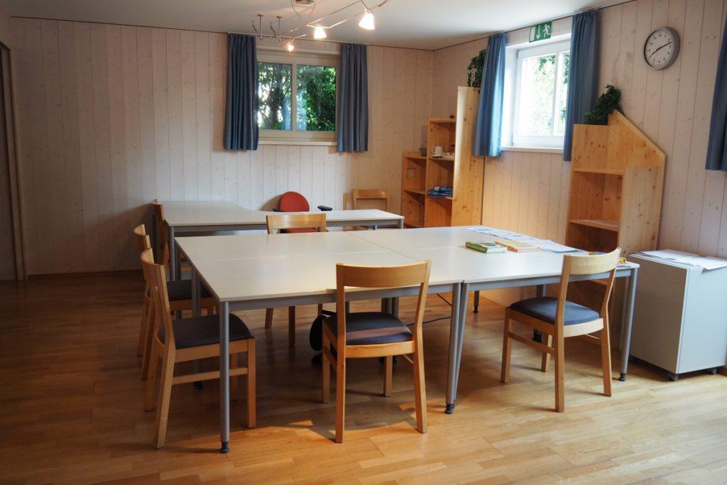 Wohngruppe Bergen: interne Beschulung