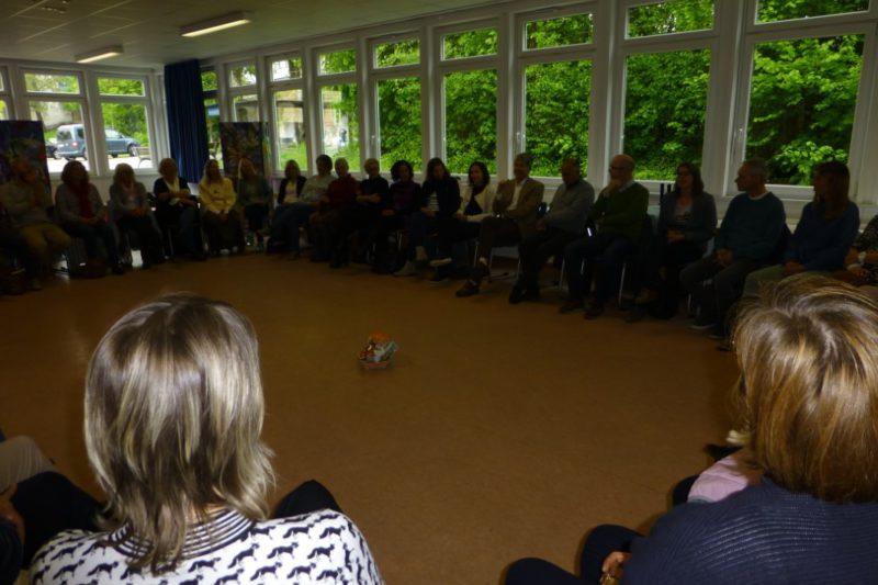 Insgesamt 44 Lehrkräfte Kamen Am Gemeinsamen Pädagogischen Tag Zusammen.