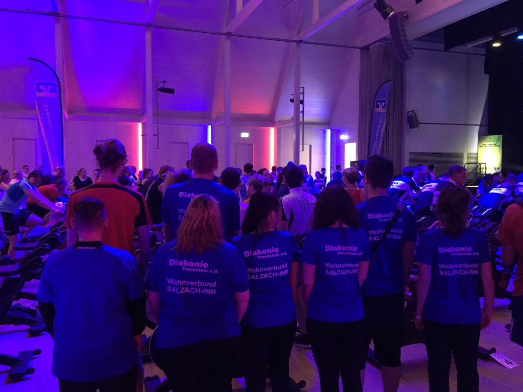 Der Wohnverbund SALZACH-INN Beteiligt Sich Beim Raiffeisen-BRK Charity-Ride