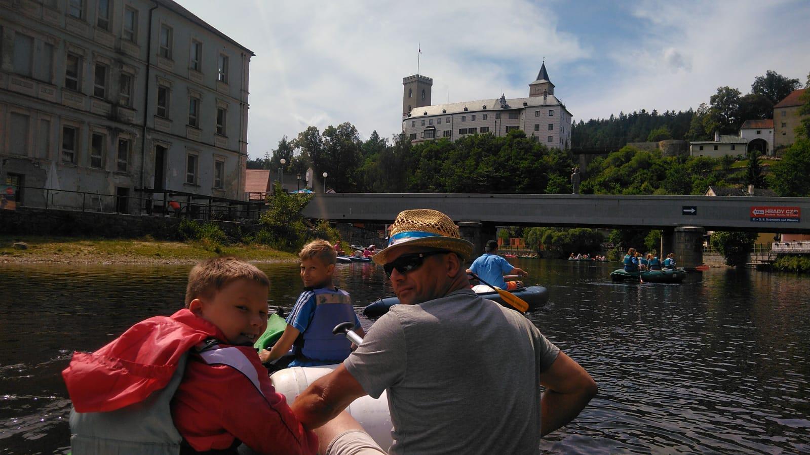 Kanutour Auf Der Moldau