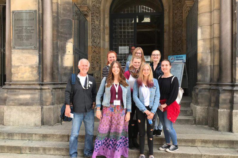 VertreterInnen Der Fachakademie Mühldorf Beim Jugendkongress In Berlin