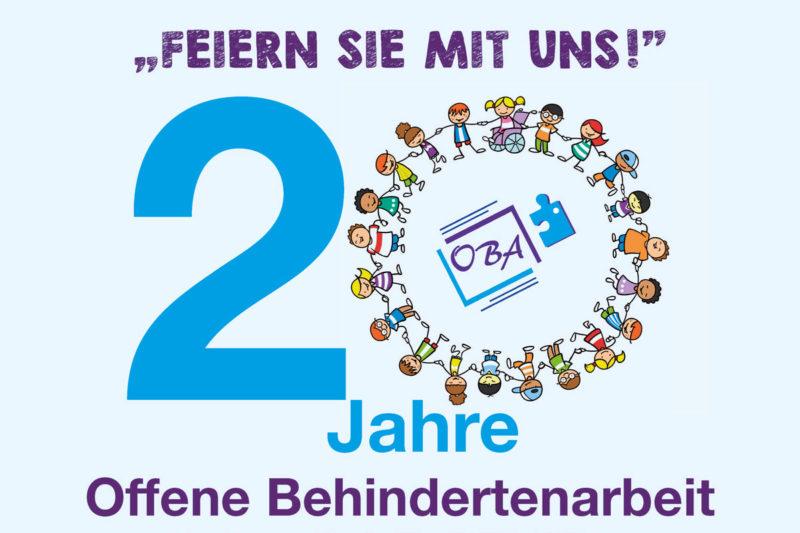 Die Offenen Behindertanarbeit Altötting Feiert 20-jähriges Jubiläum.