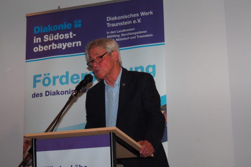Gottfried Stritar, 1. Stiftungsvorstand, Widmete Den Preisträgern Eine Bewegende Laudatio.