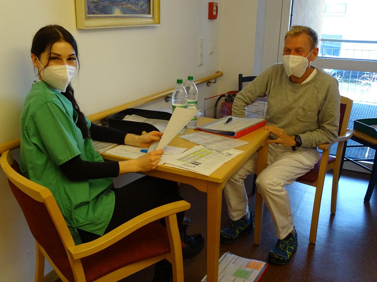 Impfaufklärungsgespräch