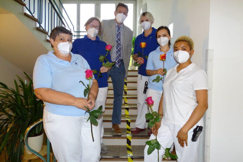 Dank Und Anerkennung Allen Pflegekräften